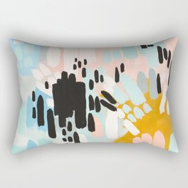 Collisions Rectangular Pillow