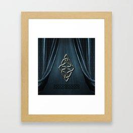 The celtic knot Framed Art Print