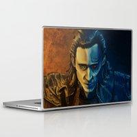 loki Laptop & iPad Skins featuring Loki by Sara Cooley