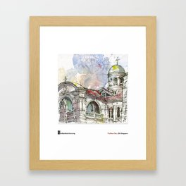 "Tia Boon Sim, ""The Singapore Art Museum"" Framed Art Print"
