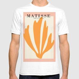 Henri matisse the cut outs contemporary, modern minimal art T-shirt