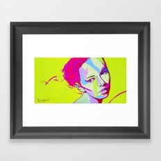 Mayya Framed Art Print