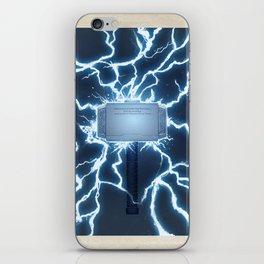 Hammer Time iPhone Skin