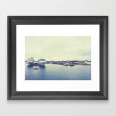 Nassau Framed Art Print