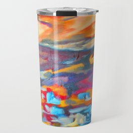 My Village | Colorful Small Mountainy Village Travel Mug