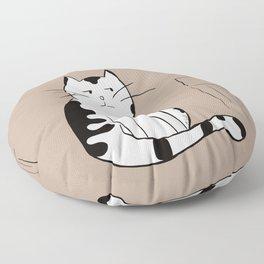 Java the Coffee Cat Floor Pillow