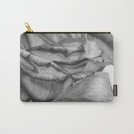 OPEN UP IN BLACK & WHITE Carry-All Pouch
