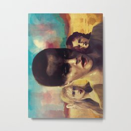 Mad Max Girls Metal Print
