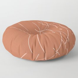 Female Form #2 Floor Pillow