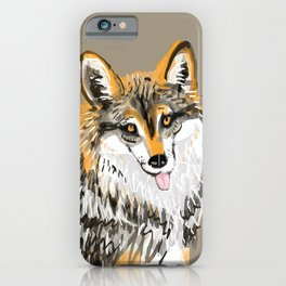 Mexican Wolf #1 iPhone Case