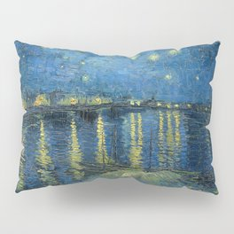 Van Gogh Starry Night Over the Rhone Pillow Sham