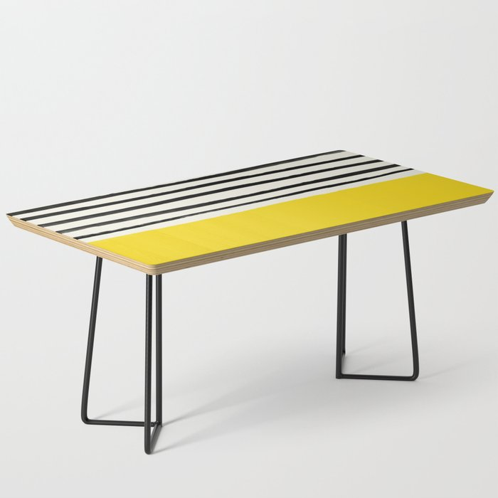 Sunshine x Stripes Coffee Table