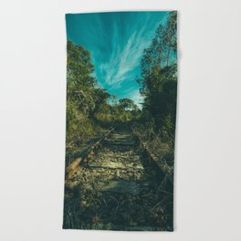 Abandoned Beach Towel