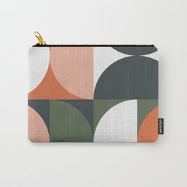 Mid Century Geometric 15 Carry-All Pouch