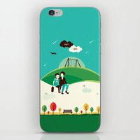 fault in our stars iPhone & iPod Skins featuring The Fault In Our Stars by Risa Rodil