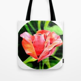 Color Rose Tote Bag