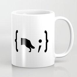 Full Stack Husky - Front End / Back End Developer Dog Coffee Mug
