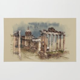 Roman Forum Rug