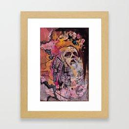 Waxing Framed Art Print