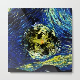 cheshire starry night   Metal Print