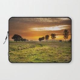 Countryside Sunset Landscape Laptop Sleeve