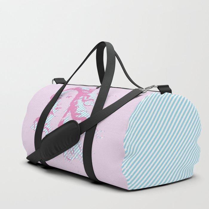 Rebirth of Venus - Pink & Cyan - Trans Pride! Duffle Bag