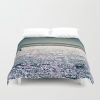 cape cod Duvet Covers featuring Chatham Cape Cod Massachusetts by ELIZABETH THOMAS Photography of Cape Cod