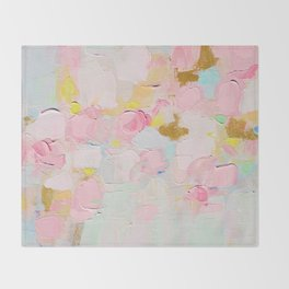 Cotton Candy Dreams Throw Blanket