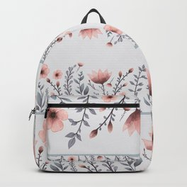 FLORAL WATERCOLOR Backpack