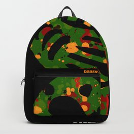 SANKOFA - Learn from the Past! Backpack
