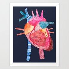 Be Still My Heart Art Print
