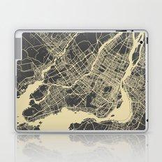 Montreal Map Laptop & iPad Skin