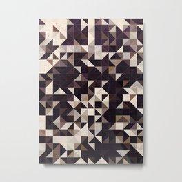 Abstract Geometric Art 804 Metal Print