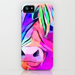 Highland Cow 3 iPhone Case