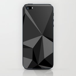 Low poly mess iPhone Skin