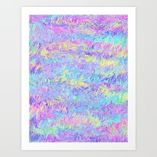Four Colors Art Print