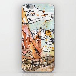 Wildfire iPhone Skin