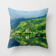 Beautiful Norway Throw Pillow