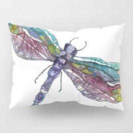 """Dragonflies Are Magical"" Pillow Sham"