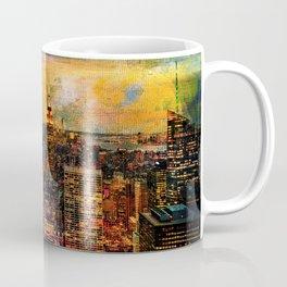 NYC Color Grunge Coffee Mug