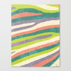 Fruit Stripes. Canvas Print