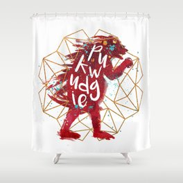 Pukwudgie Shower Curtain