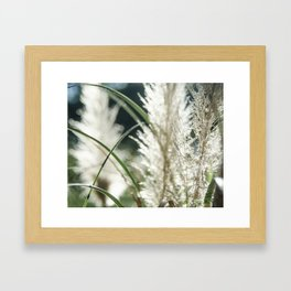 Dissolving in three stages Framed Art Print