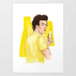 Harry is all yellow Art Print