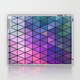 Purple Geometric Pattern Laptop & iPad Skin