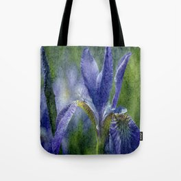 Flowers view Tote Bag