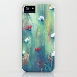Dancing Field of Flowers iPhone Case