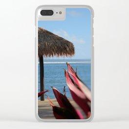 Paradise Samoa Clear iPhone Case
