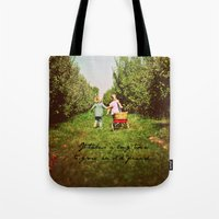 friendship Tote Bags featuring Friendship  by Jo Bekah Photography