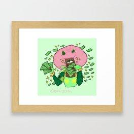 Bibi - Human Recolor - Get Money Framed Art Print